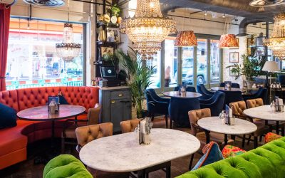 My favourite places to eat, drink and catch up in London