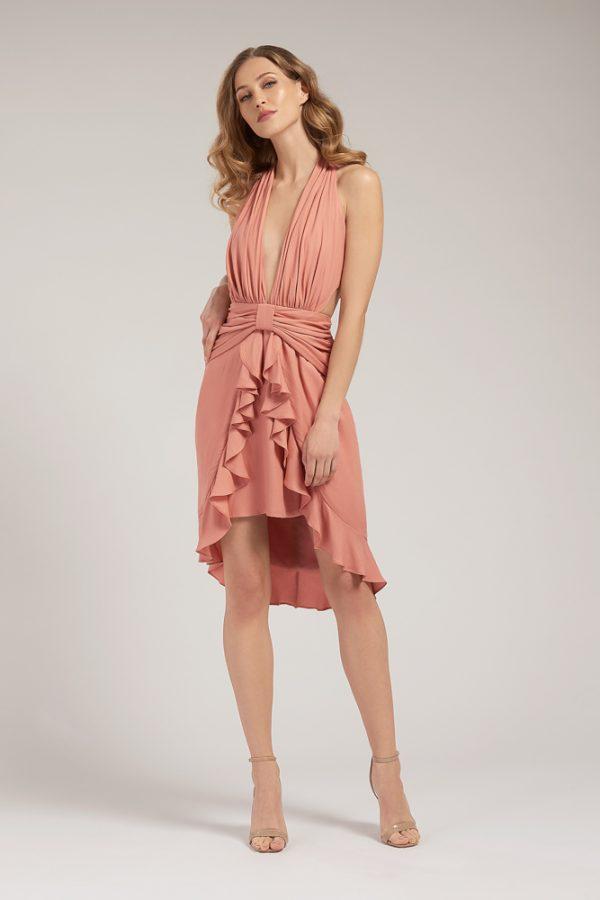 Sarah Goddess Dress Front
